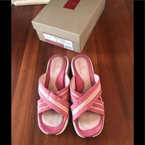 Cole Haan Nike Air Two Toned Pink Sandals